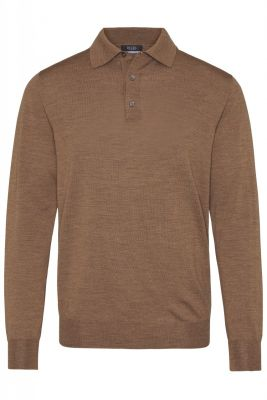 Polo modern fit digel in pure combed wool