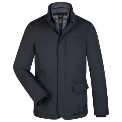 Trendy blue milestone modern fit jacket