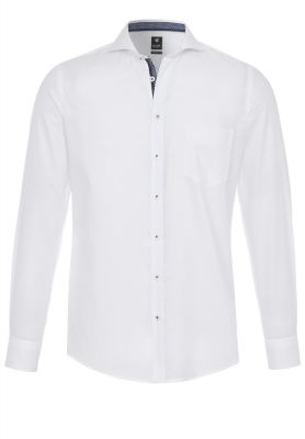 White shirt pure with modern fit pocket