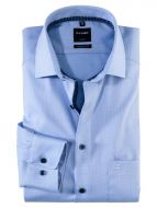 Olymp blue cotton shirt operated modern fit