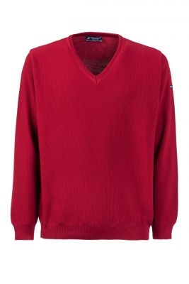 Pullover edged green coast modern fit made in Italy