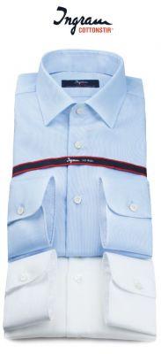 Camicia slim fit ingram cotone oxford cottonstir