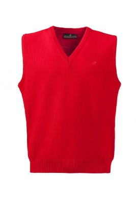 Red vest with v green coast modern fit neckline