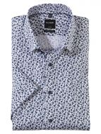 Olymp Luxor short sleeves modern fit shirt in easy ironing cotton