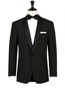 Tuxedo digel ceremony black shawl chest drop four short