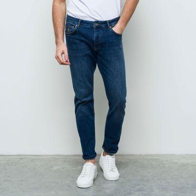 Jeans mcs blu medio denim cotone stretch