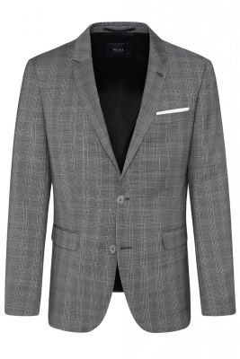 Extra slim fit digel move grey checked dress