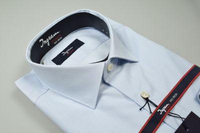 Ingram slim fit shirt a thousand stripes heavenly cotton no ironing