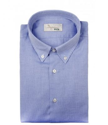 Camicia ingram button down regular fit in cotone bio organico