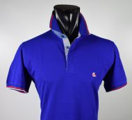 Modern fit bluette ingram polo shirt in scottish cotton