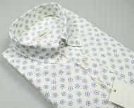 Camicia in lino e cotone ingram button down regular fit