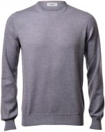 Gran sasso round neck slim fit wool merinos