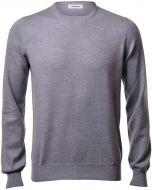 Gran sasso round neck slim fit wool merinos
