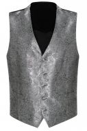 Panciotto elegante cerimonia grigio con cravatta