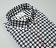 Camicia in flanella ingram collo button down regular fit