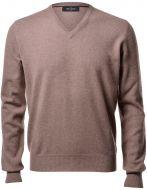 Hazelnut sweater gran sasso pure cashmere