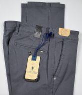 Pantalone grigio scuro sea barrier tricotina stretch regular fit
