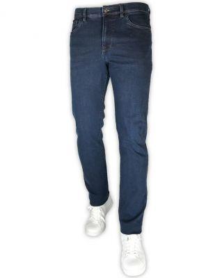 Jeans blu denim stone washed sea barrier modern fit