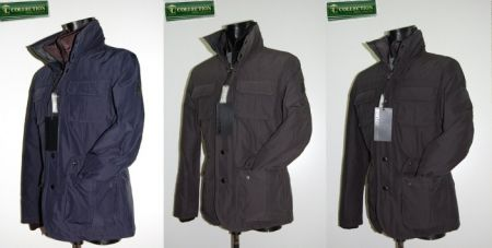 Field jacket jacket feather Milestone 3 colors