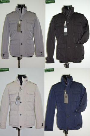 Field jacket piumino quattro colori