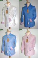 Camicia moda Ingram Slim Fit quattro colori