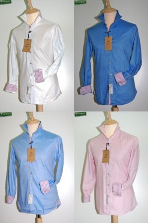 Ingram fashion shirt Slim Fit four colors
