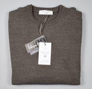 Sweater choker walnut cavalieri milano modern fit