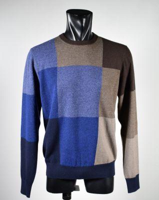 Sweater ingram mixed cashmere choker modern fit