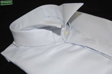 Camicia cerimonia diplomatica slim fit grigio
