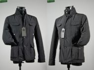 Windproof jacket with detachable bib P & P
