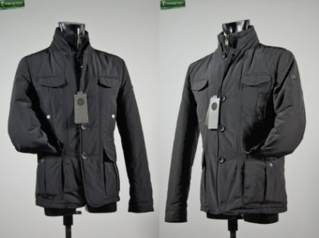 Field jacket con pettorina antivento staccabile P&P