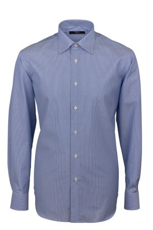 Cottonstir shirt blue thousand rows ingram