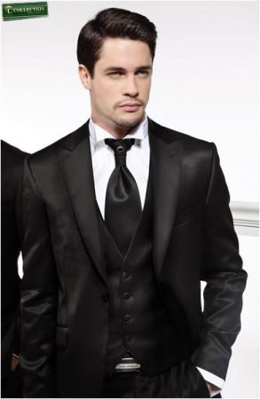 Tuxedo dress fashion slim fit luciano sopranos ceremony