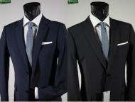 Classic john barritt dress blue or black