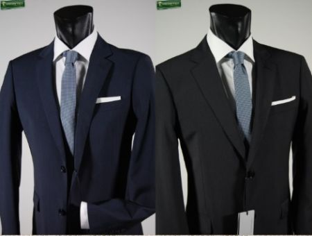 Classic john barritt dress blue or black