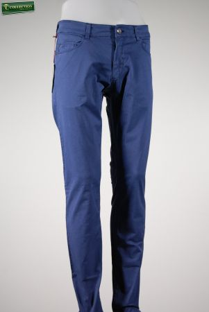 Gabardine stretch jeans washed trussardi jeans