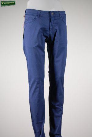 Jeans in gabardina stretch lavata trussardi jeans