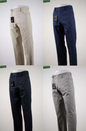 Pantalone uomo carrettiera in cotone larusmiani