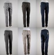Pantalone moda aderente elasticizzato fradi