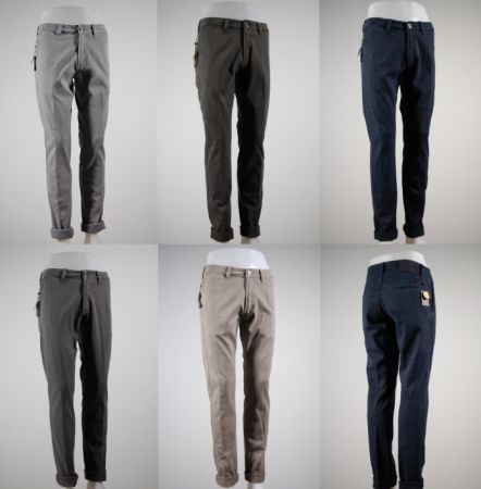Fashion pants stretch tight fradi
