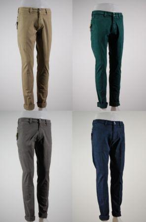 Pantalone moda elasticizzato tasca america fradi