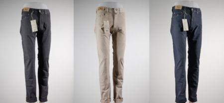 Jeans mcs gabardina stretch tinta in capo