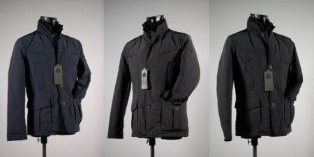 Jacket with detachable screen Projects & People