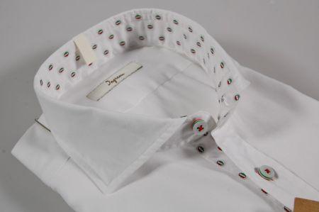 White shirt slim fit collar french ingram