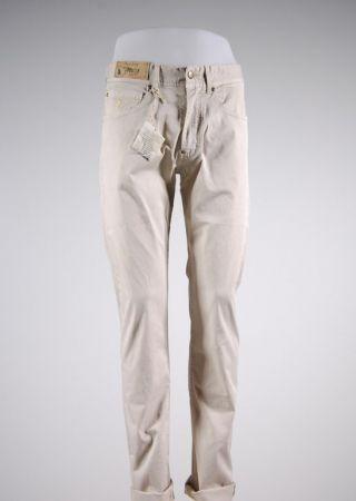 Jeans mcs in cotone elasticizzato tinta in capo