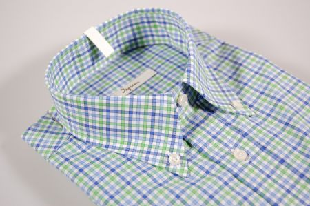 Checked shirt button down ingram