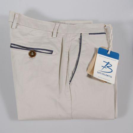 Pantalone bsettecento in quattro colori in cotone stretch