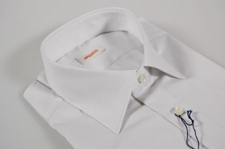 Grey slim fit shirt aramis in pure cotton