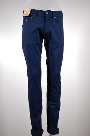 Jeans in gabardina stretch mcs blu o nero