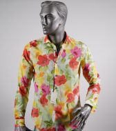 Camicia ingram slim fit fantasia floreale